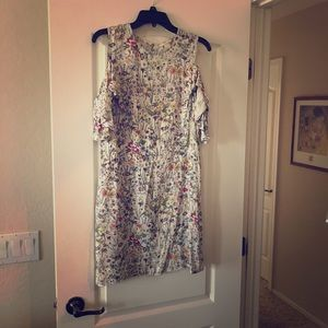 Sweet floral ladies dress